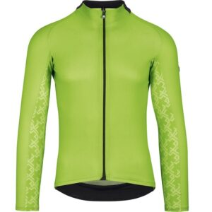 Assos MILLE GT LS Jersey - Langærmet Cykeltrøje - Grøn