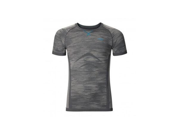Odlo - Evolution light blackcomb - Basis t-shirt - Herre - Grå - Str. S