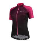 Rogelli Glow - Cykelbluse - Dame - Race Fit - Bordeaux/Pink - Str. M