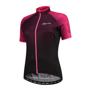 Rogelli Glow - Cykelbluse - Dame - Race Fit - Bordeaux/Pink - Str. XL