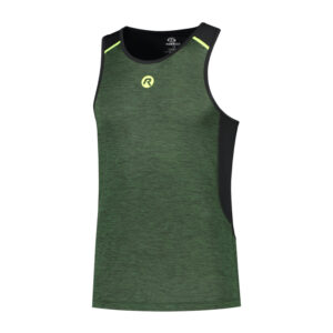 Rogelli Matrix - Sports singlet - Grøn/Sort - Str. M