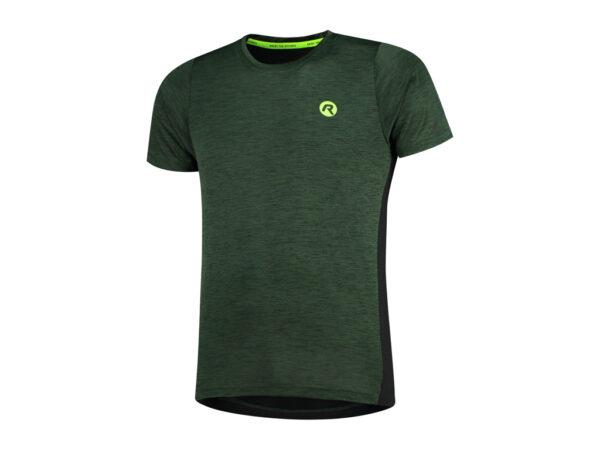 Rogelli Matrix - Sports t-shirt - Grøn/Sort - Str. 2XL