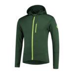 Rogelli Matrix - Sports trøje hooded - Grøn/Gul - Str. 2XL