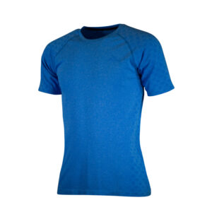 Rogelli Seamless - Sports t-shirt - Blå - Str. L