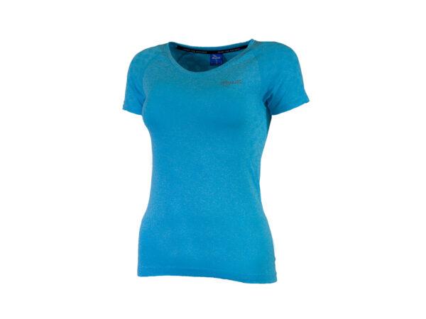 Rogelli Seamless - Sports t-shirt - Dame - Blå - Str. L