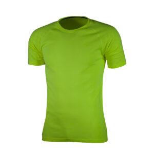 Rogelli Seamless - Sports t-shirt - Gul - Str. L