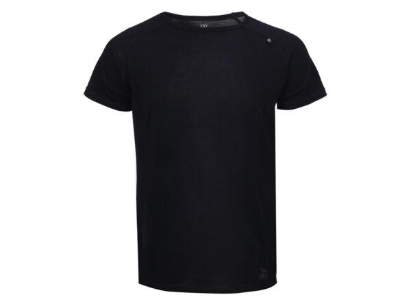 2117 OF SWEDEN Ullånger Eco - T-Shirt Merinould - Korte ærmer - Herre - Sort - Str. L