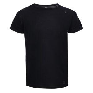 2117 OF SWEDEN Ullånger Eco - T-Shirt Merinould - Korte ærmer - Herre - Sort - Str. M