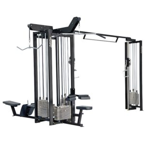 Gymleco 200-Series Four Station With Cable Cross