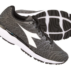 Diadora - Mythos Blushield Fly HIP 2 - Hr. - Str. 44,5 - Steel grey/Sort