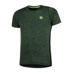 Rogelli Matrix - Sports t-shirt - Grøn/Sort - Str. M
