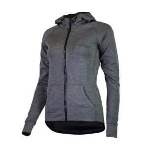 Rogelli Training - Sports hoodie - Dame - Carbon - Str. L