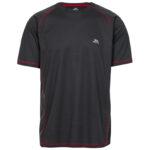 Trespass Albert - T-Shirt Quick Dry - Hr. Str. XXL - Carbon