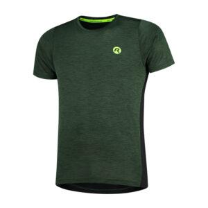 Rogelli Matrix - Sports t-shirt - Grøn/Sort - Str. S