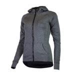 Rogelli Training - Sports hoodie - Dame - Carbon - Str. S