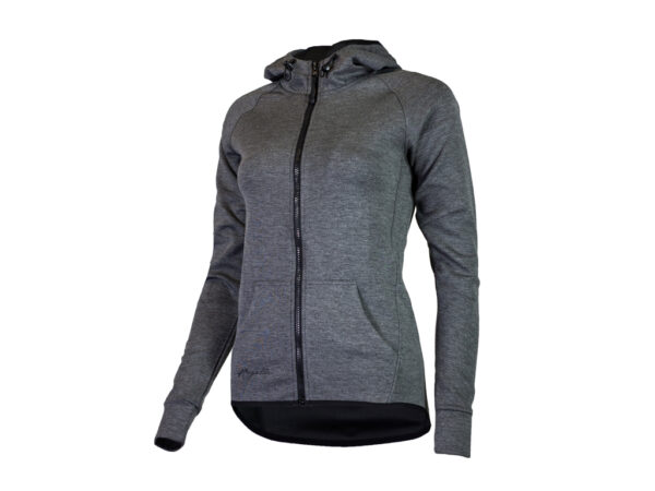 Rogelli Training - Sports hoodie - Dame - Carbon - Str. S