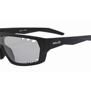 AGU Beam - Sports- og cykelbrille med fotokromiske linser - Sort