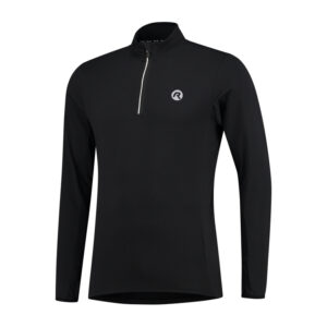 Rogelli Campton 2.0 - Sports T-shirt - Lange ærmer - Sort - Str. L