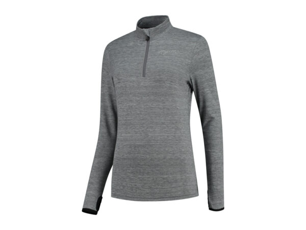 Rogelli Carina 2.0 - Sports bluse - Lange ærmer - Dame - Grå - Str. 2XL