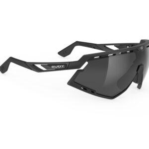 Rudy Project Defender - Løbe- og cykelbrille - Smoke black - Mat sort/sort