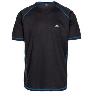 Trespass Albert - T-Shirt Quick Dry - Hr. Str. L - Sort