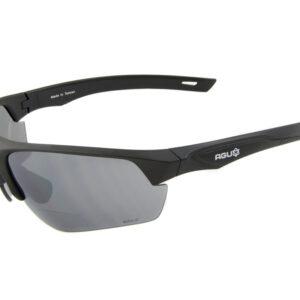AGU Medina Bifocal - Cykelbrille med læsefelt og 2 sæt linser - Sort - +1.00